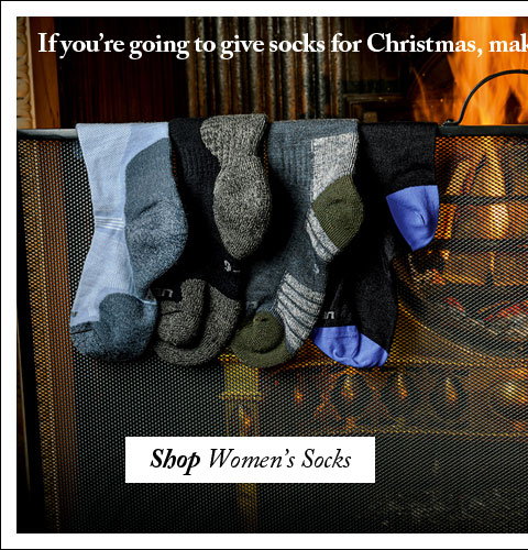 If you're going to give socks for Christmas, make sure they're the very best that money can buy. Shop Women's Socks.
