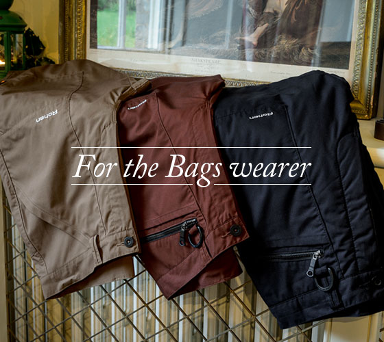 For the Bags Wearer. Shop Men's Bags.