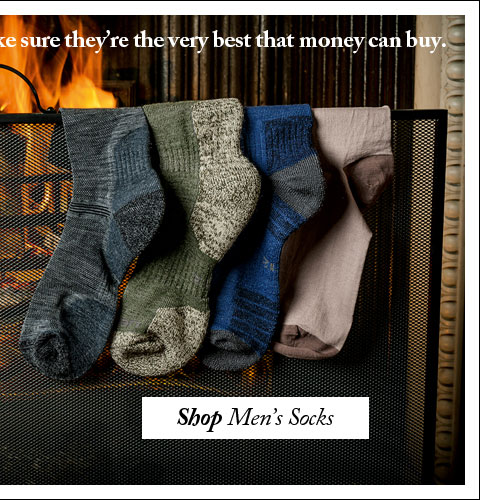 If you're going to give socks for Christmas, make sure they're the very best that money can buy. Shop Men's Socks.