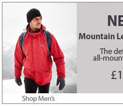 NEW Mountain Leader Jacket. £185 Shop Men's.