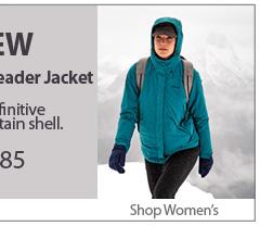 NEW Mountain Leader Jacket. £185 Shop Women's.