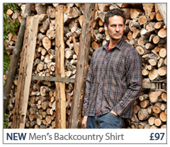 NEW Men's Backcountry Shirt. £97. SHOP Men's Backcountry Shirt.