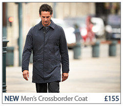 NEW Men's Crossborder Coat £155. BUY NOW.