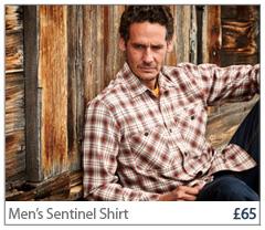 Men's Sentinel Shirt. £65 Buy Now.