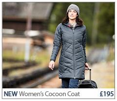 Women's Cocoon Coat. £195. SHOP Women's Women's Cocoon Coat.