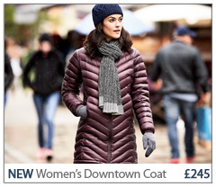NEW Women's Downtown Coat £245. BUY NOW.