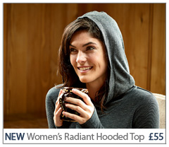 NEW Radiant Hooded Top. £55 Buy Now.