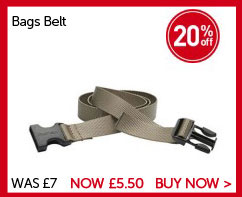 Bags Belt. Save 20% WAS £7. NOW £5.50. BUY NOW.