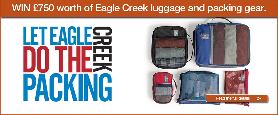 Let Eagle Creek do the packing. Win &pound;750 worth of Eagle Creek luggage and packing gear.