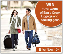 Win £750 worth of Eagle Creek Luggage and packing gear with Rohan. Enter Now.