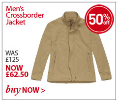 Men's Crossborder Jacket. WAS £125. NOW £62.50. SHOP Men's Crossborder Jacket.
