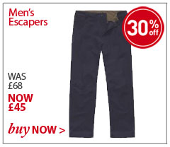 Men's Escapers. WAS £68. NOW £45. SHOP Men's Escapers.