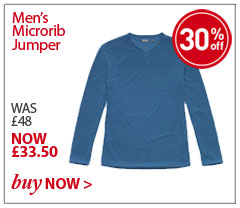 Men's Microrib Jumper. WAS £48. NOW £33.50. SHOP Men's Microrib Jumper.