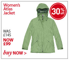 Women's Atlas Jacket. WAS £145. NOW £99. SHOP Women's Atlas Jacket.