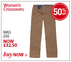 Women's Crossovers. WAS £65. NOW £32.50. SHOP Women's Crossovers.