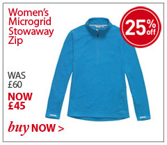 Women's Microgrid Stowaway Zip. WAS £60. NOW £45. SHOP Microgrid Stowaway Zip.