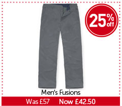 Men's Fusions. WAS £57. NOW £42.50. BUY NOW.