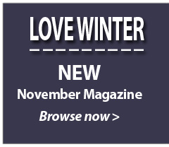 LOVE WINTER. NEW November Magazine. Browse now.....