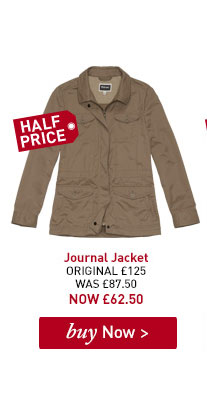 Women's Journal Jacket. ORIGINAL £125. WAS £87.50. NOW £62.50. BUY NOW.