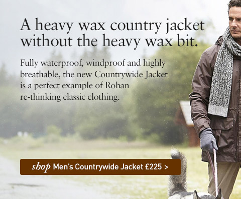 NEW Countrywide Jacket. A heavy wax country jacket without the heavy wax bit. SHOP Men's Countrywide Jacket