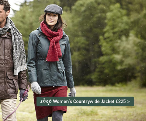 NEW Countrywide Jacket. A heavy wax country jacket without the heavy wax bit. SHOP Women's Countrywide Jacket.