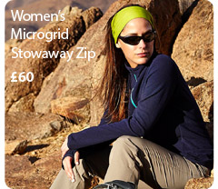 Women's Microgrid Stowaway Zip. £60. Buy now.