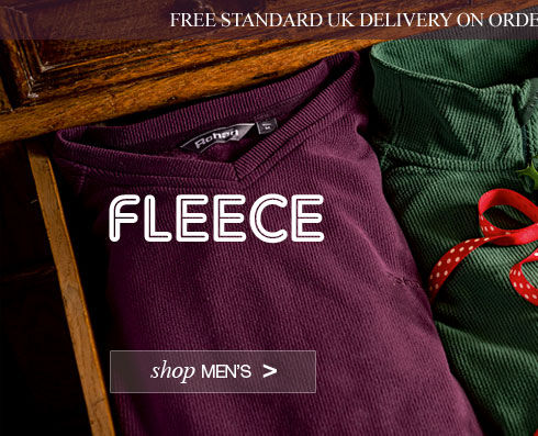 Men's Fleece. Shop now. Plus free standard UK delivery on orders over £30 until 20 December 2013.