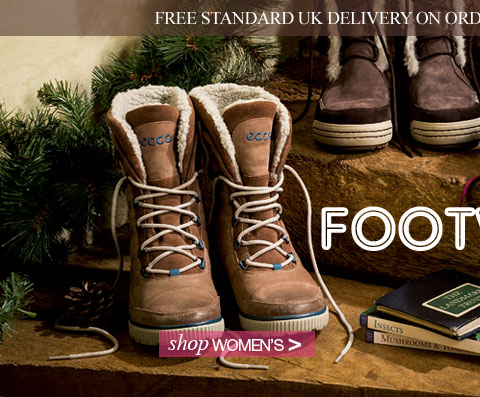 Men's Footwear. Shop now. Plus free standard UK delivery on orders over £30 until 20 December 2013.