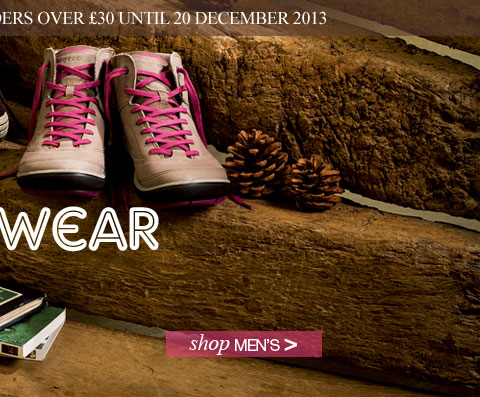 Women's Footwear. Shop now. Plus free standard UK delivery on orders over £30 until 20 December 2013.