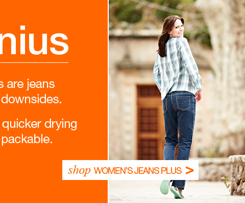 Rohan. Jeanius. Shop Women's Jeans Plus.