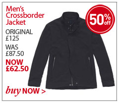 Men's Crossborder Jacket. ORIGINAL £125. WAS £87.50. NOW £62.50. SAVE 50%. BUY NOW.