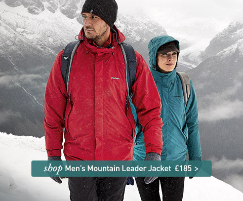 The definitive hill and mountain jacket. SHOP Men's Mountain Leader Jacket.