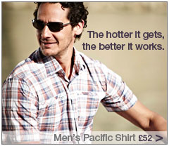 Men's Pacific Shirt. Short Sleeved. £52. Buy Now.