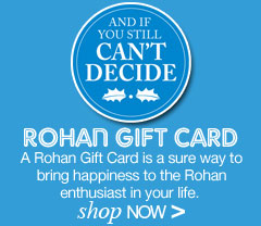 And if you still can't decide, why not try our Rohan Gift Card. Shop Now.