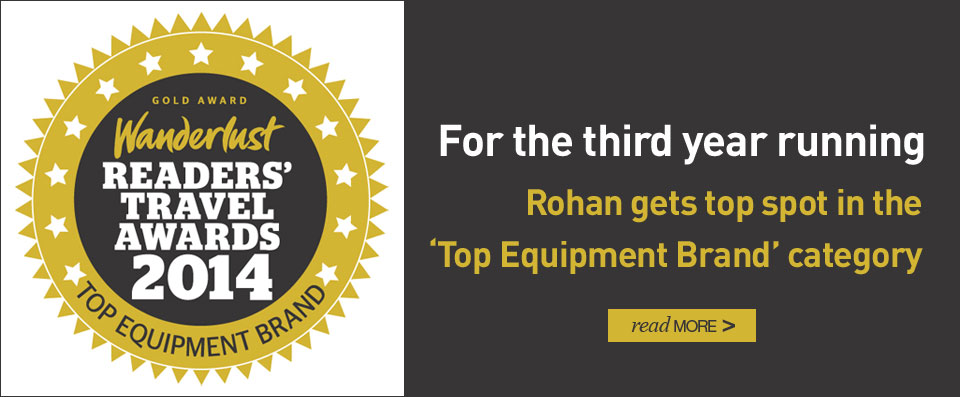 "For the third year running, Rohan gets top spot in the ""Top Equipment Brand"" category. Read more..."