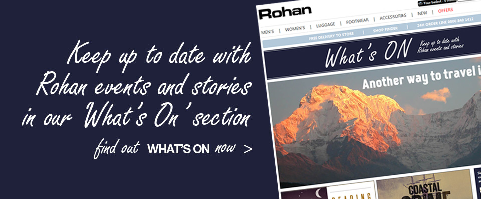 Keep up to date with Rohan events and stories in our 'What's On' section. Find out 'What's On' NOW.