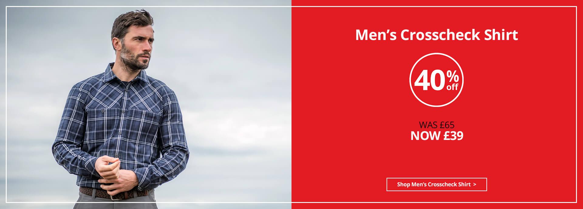 Men's Crosscheck Shirt