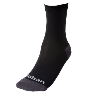 Men's Inner & Hot Socks - Black
