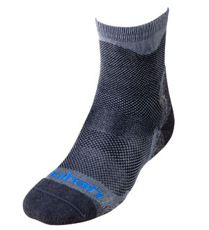 Men's Hot & Temperate Socks - Charcoal