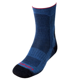 Men's Temperate & Cool Socks - Airforce Blue