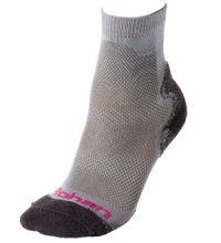 Technical sock for hot or temperate climates