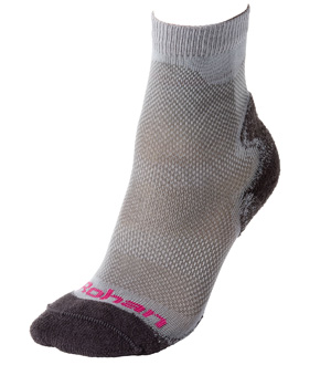 Women's Hot & Temperate Socks - Charcoal/Persian Pink