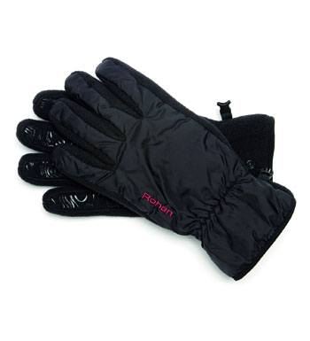 Weather System Gloves Cold - Black