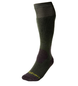 Men's Long Cool & Cold Sock - Grizedale Green
