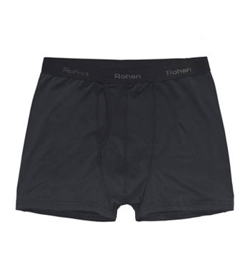 Men's Cool Silver Trunks - Black