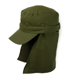 Unisex Montgomery Convertible Hat - Jungle Green