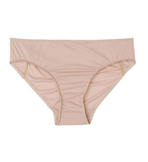Women's Ultra Silver Briefs - Nude