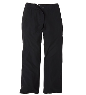 Women's Winter Crossover Trousers - Black