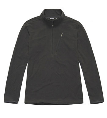 Men's Microgrid Stowaway Zip - Carbon