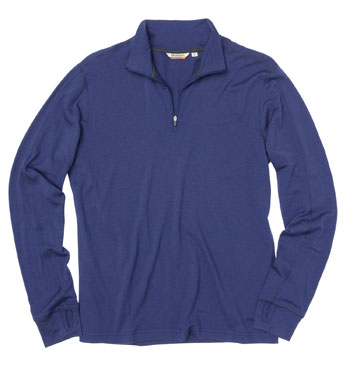 Men's Superfine Merino 200 Zip - Team Blue